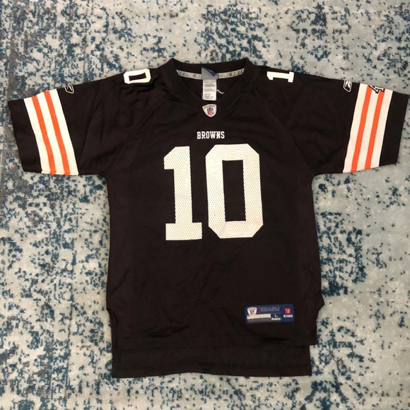 outlet store 50634 0ba7c Cleveland Browns Jersey #10 Brady Quinn Small